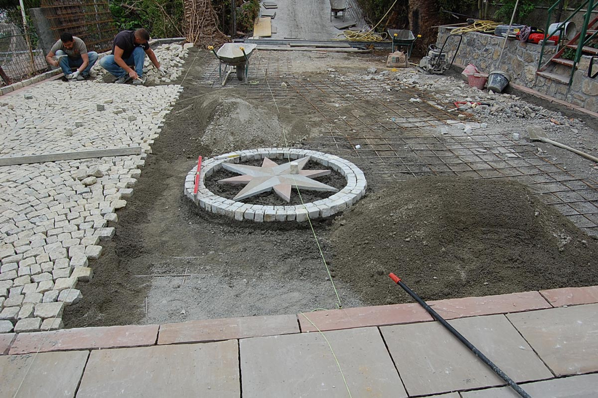 Materiali in pietra cuneo vendita caminetti in pietra - Pietre pavimento giardino ...
