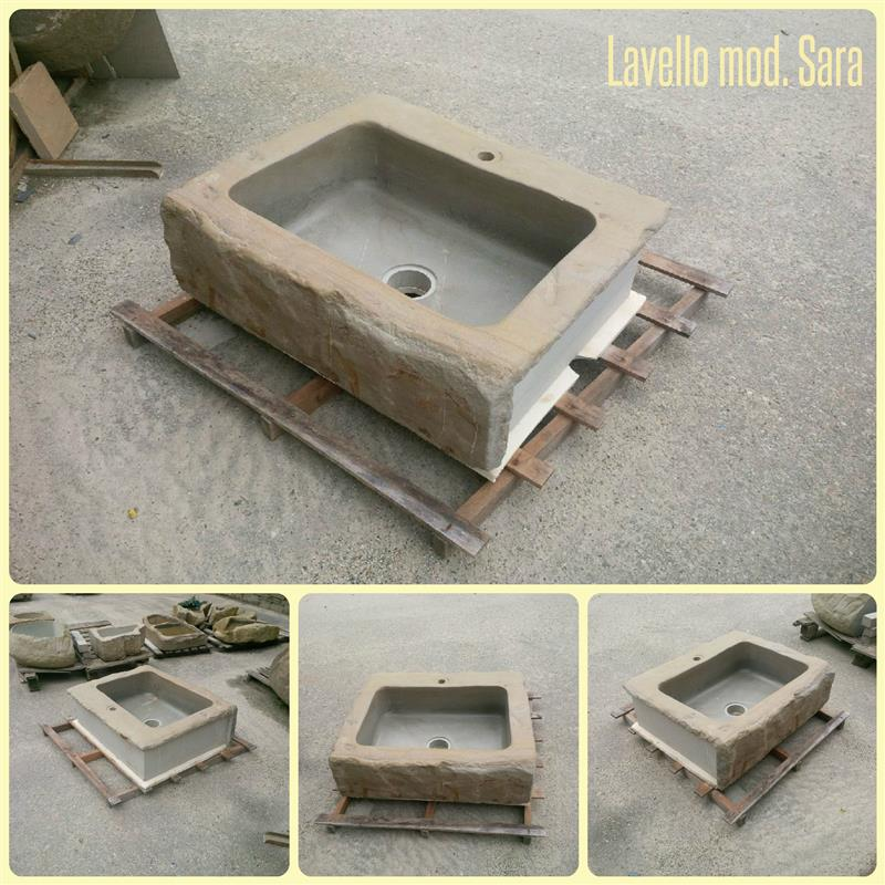 Lavello in pietra di Langa Mod. Sara