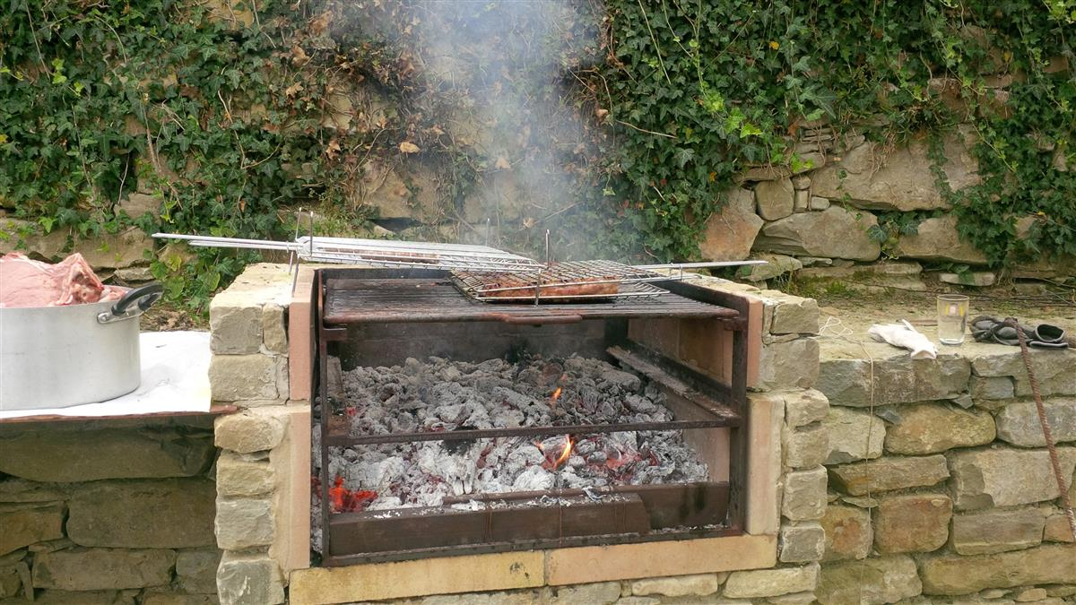 Barbecue in pietra n°6