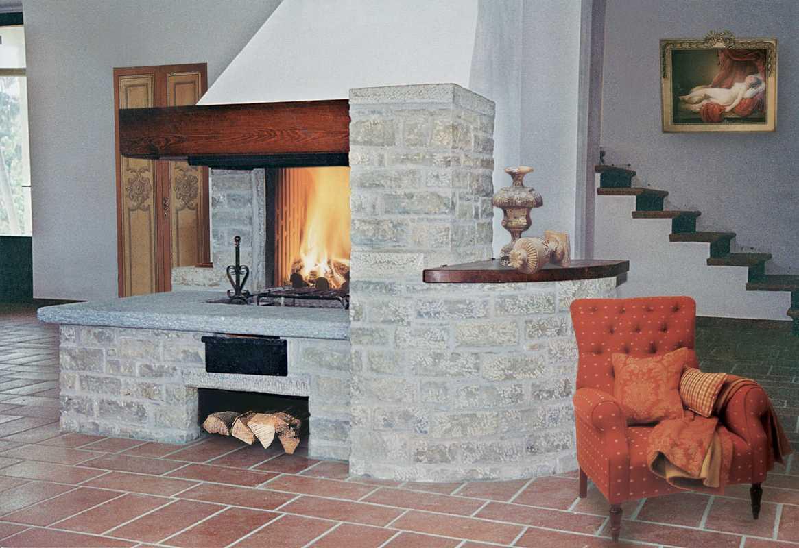 Murature in pietra di langa muri in pietre di langa realizzazione muri in pietra piemonte - Caminetto per esterno ...