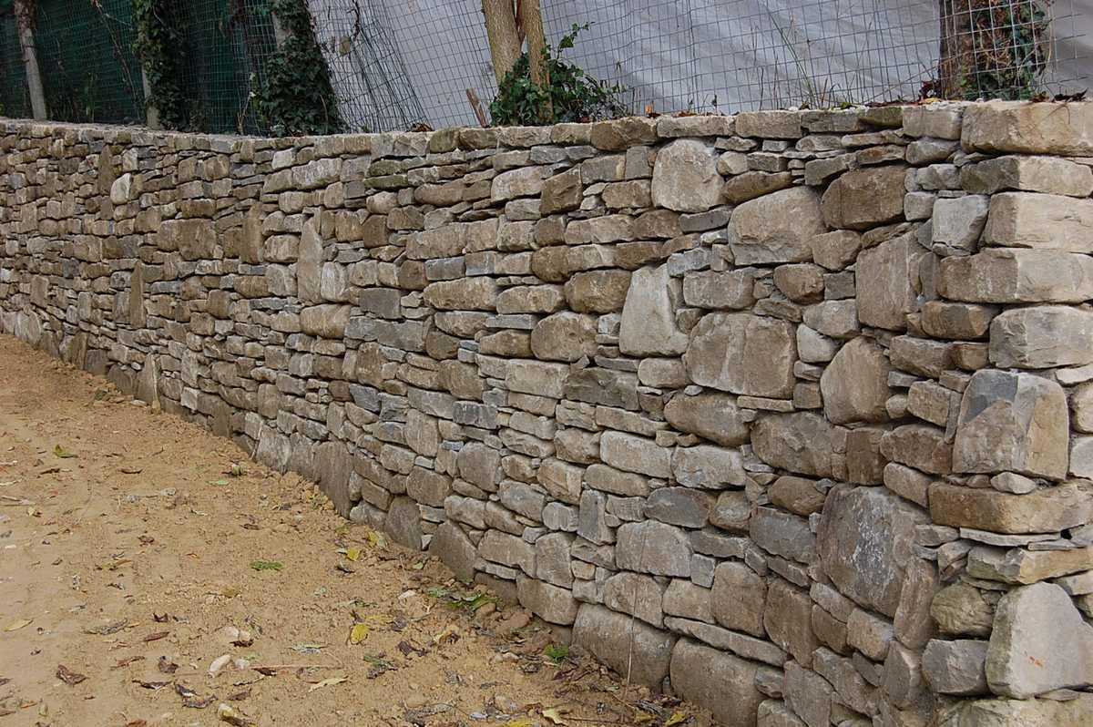 Popolare Murature in pietra di Langa, Muri in pietre di Langa  LG41