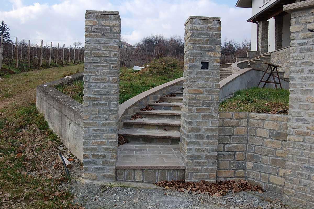 pietra di Langa, Muri in pietre di Langa, Realizzazione muri in pietra ...