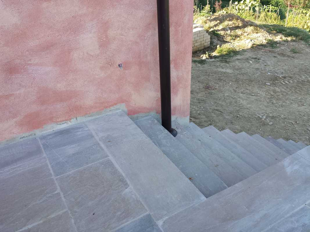 pavimentazione tipo  u0026quot patio u0026quot  in pietra gaia a spacco n u00b036