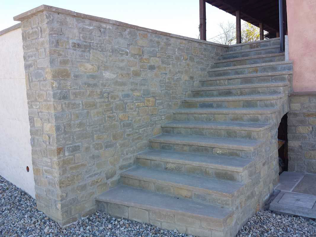 Preferenza Murature in pietra di Langa, Muri in pietre di Langa  SY32